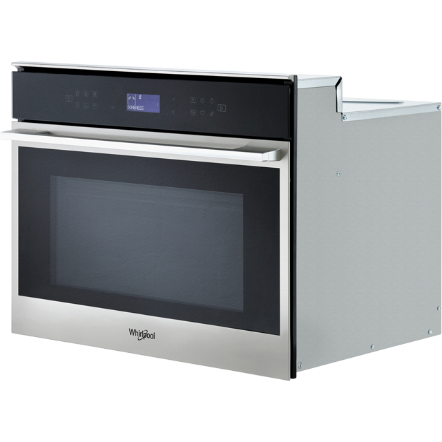 Whirlpool W Collection W7MW461UK Built In Combination Microwave Oven - Stainless Steel - W7MW461UK_SS - 4