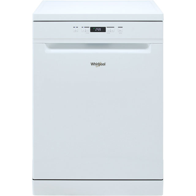 Whirlpool WFC3B19UK Standard Dishwasher - White - A+ Rated - WFC3B19UK_WH - 1