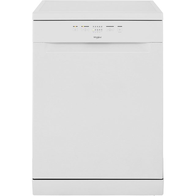 Whirlpool WFE2B19 Standard Dishwasher - White - A+ Rated - WFE2B19_WH - 1