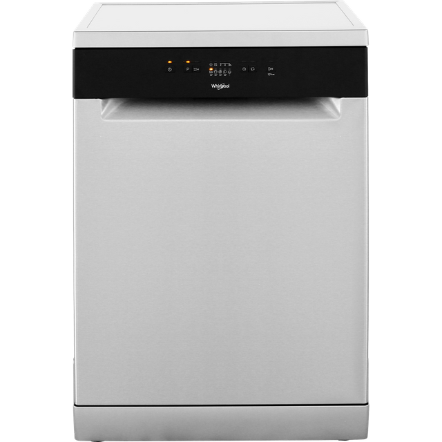 Whirlpool WFE2B19X Standard Dishwasher - Stainless Steel - A+ Rated - WFE2B19X_SS - 1