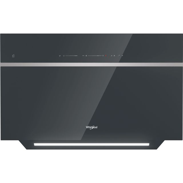 Whirlpool W Collection WHVS90FLTCK Built In Chimney Cooker Hood - Black - WHVS90FLTCK_BK - 1