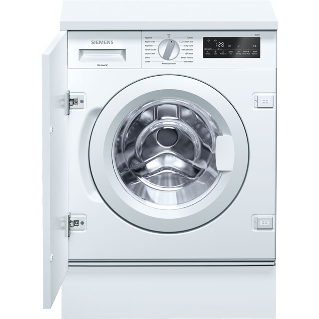 Siemens IQ-700 WI14W500GB Built In Washing Machine - White - WI14W500GB_WH - 1