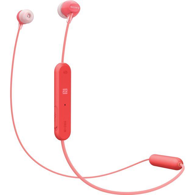 Sony WI-C300 In-ear Wireless Headphones - Red