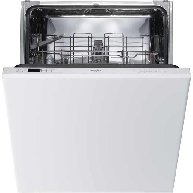 Whirlpool WIC3B19UK Built In Standard Dishwasher - White - WIC3B19UK_WH - 1