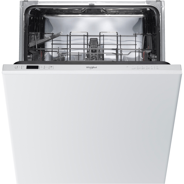 Whirlpool WIC3B19UK Fully Integrated Standard Dishwasher - White Control Panel with Fixed Door Fixing Kit - A+ Rated - WIC3B19UK_WH - 1