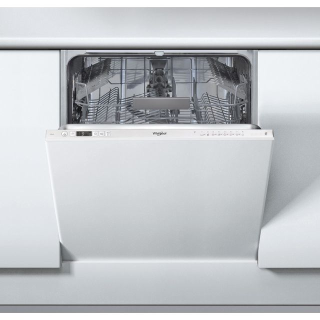 Whirlpool WIC3C26UK Fully Integrated Standard Dishwasher - White Control Panel with Fixed Door Fixing Kit - A++ Rated - WIC3C26UK_WH - 1