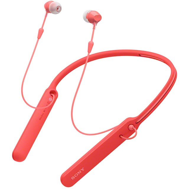 Sony WIC400R.CE7 In ear Wireless Headphones - Red