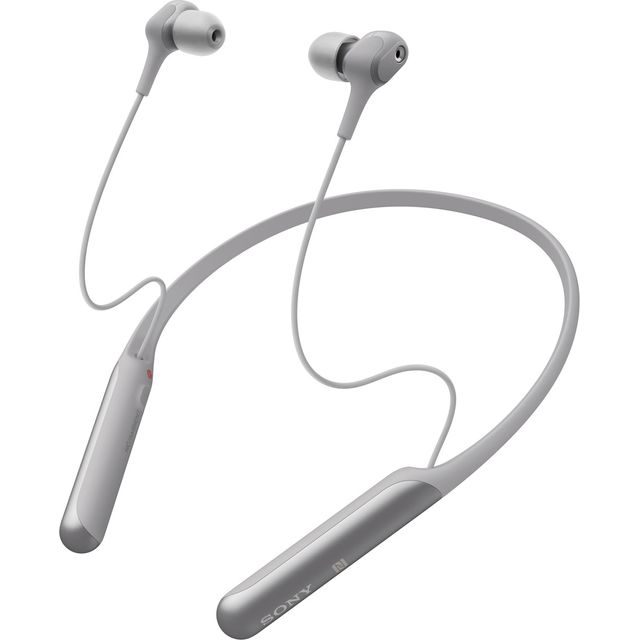 Sony WI-C600N In-Ear Wireless Headphones - Silver