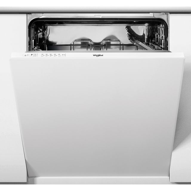 Whirlpool WIE2B19NUK Built In Standard Dishwasher - White - WIE2B19NUK_WH - 1