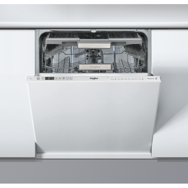 Whirlpool WIO3O33DELUK Fully Integrated Standard Dishwasher - Silver Control Panel with Fixed Door Fixing Kit - A+++ Rated - WIO3O33DELUK_SI - 1
