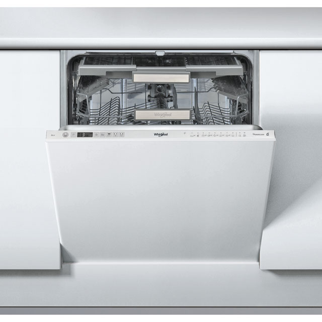 Whirlpool WIO3T123PEFUK Built In Standard Dishwasher - Stainless Steel - WIO3T123PEFUK_SS - 1