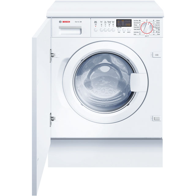 Bosch Serie 8 WIS28441GB Integrated 7Kg Washing Machine with 1400 rpm