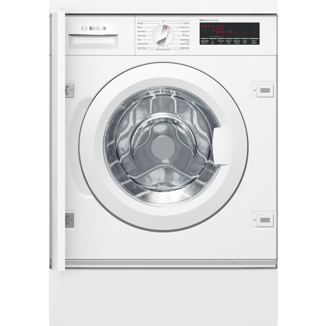 Bosch Serie 8 WIW28500GB Integrated 8Kg Washing Machine with 1400 rpm - A+++ Rated - WIW28500GB_WH - 1