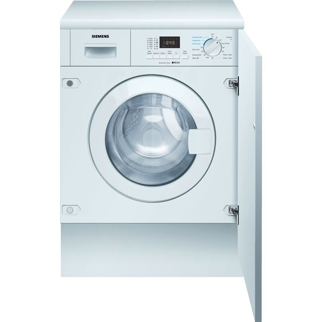 Siemens IQ-300 WK14D322GB Integrated 7Kg / 4Kg Washer Dryer with 1355 rpm - WK14D322GB_WH - 1