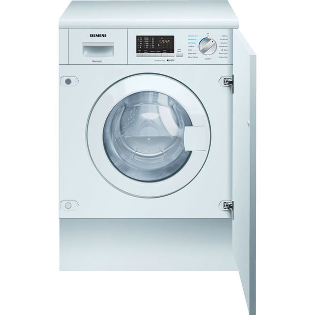 Siemens IQ-500 WK14D542GB Integrated 7Kg / 4Kg Washer Dryer with 1400 rpm - WK14D542GB_WH - 1