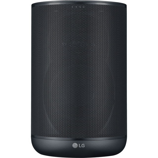 LG XBOOM AI ThinQ Wireless Speaker with Google Assistant - Black - WK7 - 1