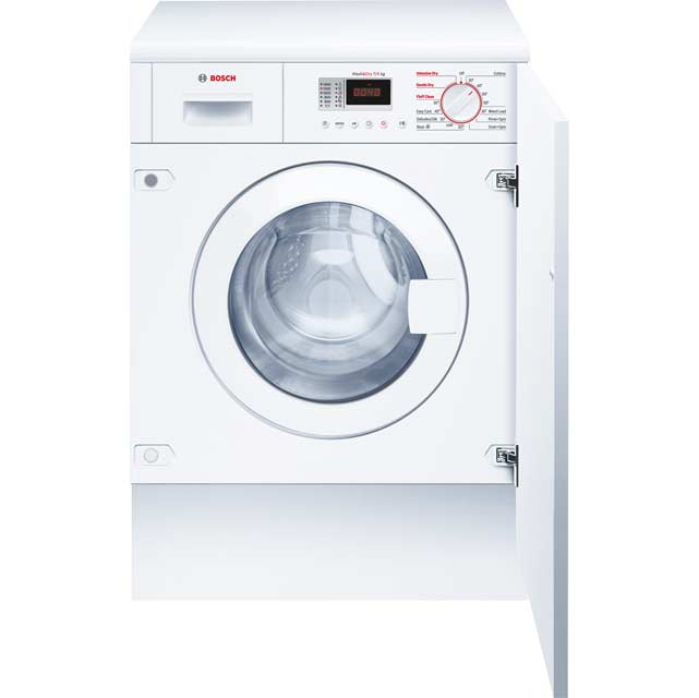 Bosch Serie 4 WKD28351GB Built In 7Kg / 4Kg Washer Dryer - White - WKD28351GB_WH - 1