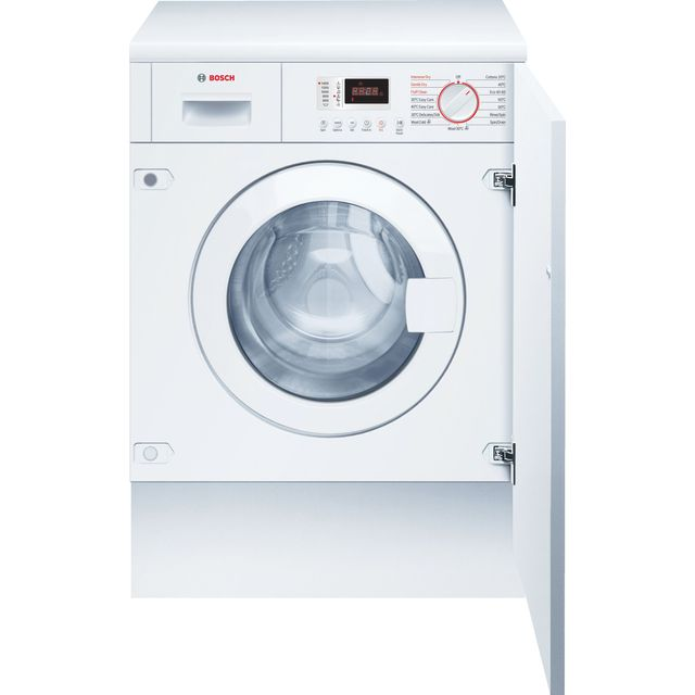 Bosch Serie 4 WKD28352GB Integrated 7Kg / 4Kg Washer Dryer with 1355 rpm - White - B Rated
