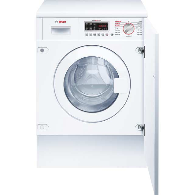 Bosch Serie 6 WKD28541GB Built In Washer Dryer - White - WKD28541GB_WH - 1