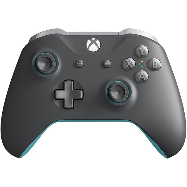 Xbox One Wireless Gaming Controller - Grey / Blue