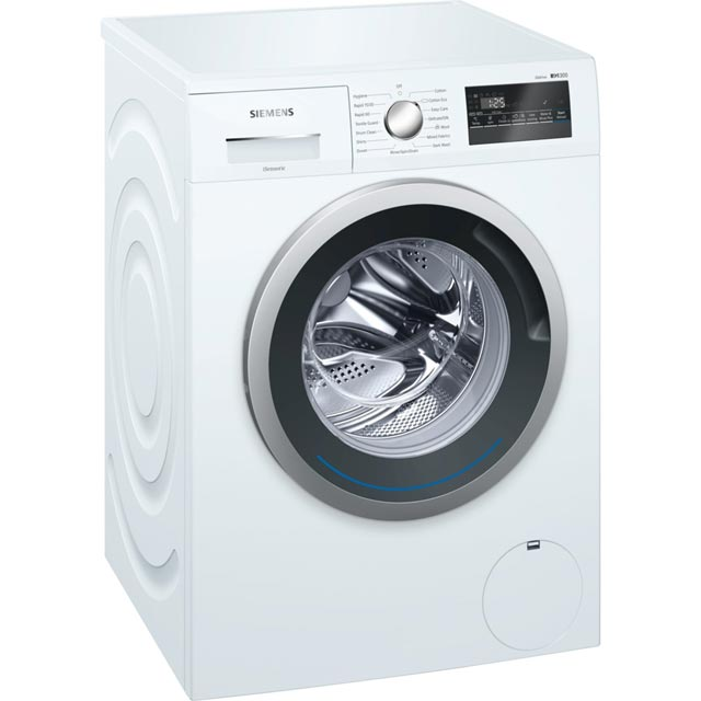 Siemens IQ-300 8Kg Washing Machine - White - A+++ Rated