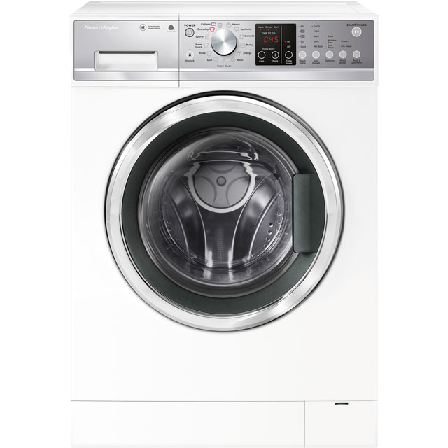 Fisher & Paykel WM1490F1 9Kg Washing Machine with 1400 rpm - White - A+++ Rated - WM1490F1_WH - 1