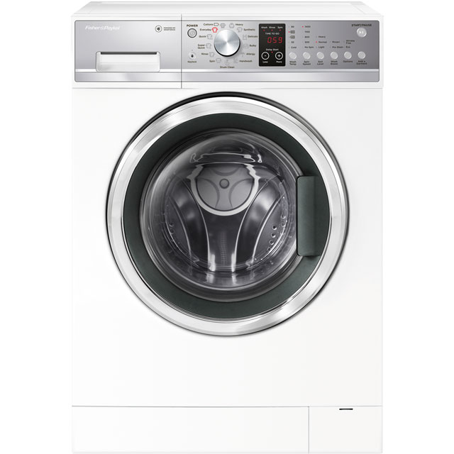 Fisher & Paykel WM1490P1 9Kg Washing Machine with 1400 rpm - White - A+++ Rated