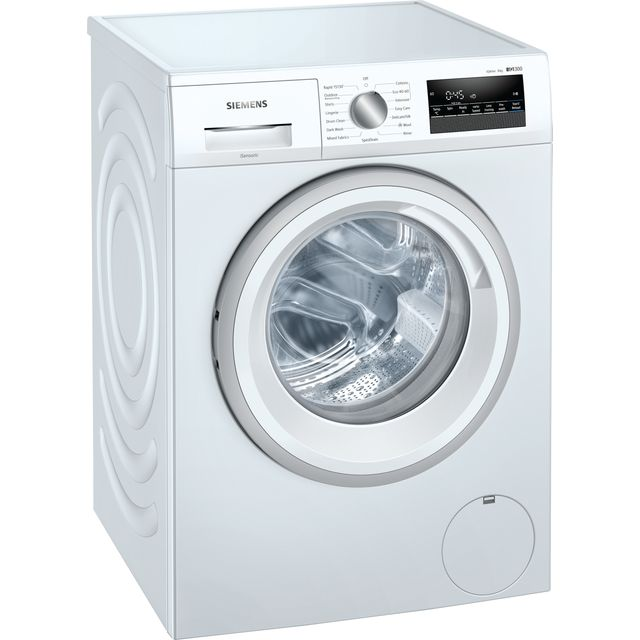 Siemens IQ-300 WM14N202GB 8Kg Washing Machine with 1400 rpm - White - A+++ Rated