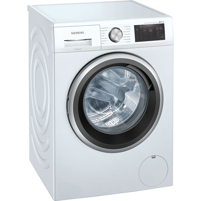 Siemens IQ-500 WM14UQ91GB 9Kg Washing Machine with 1400 rpm - White - A+++ Rated