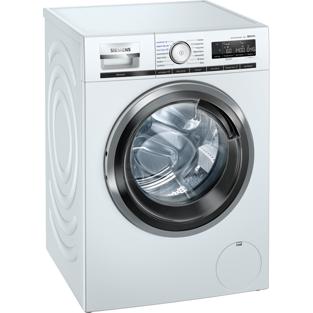Siemens IQ-500 WM14VPH9GB Wifi Connected 9Kg Washing Machine with 1400 rpm - White - A+++ Rated - WM14VPH9GB_WH - 1