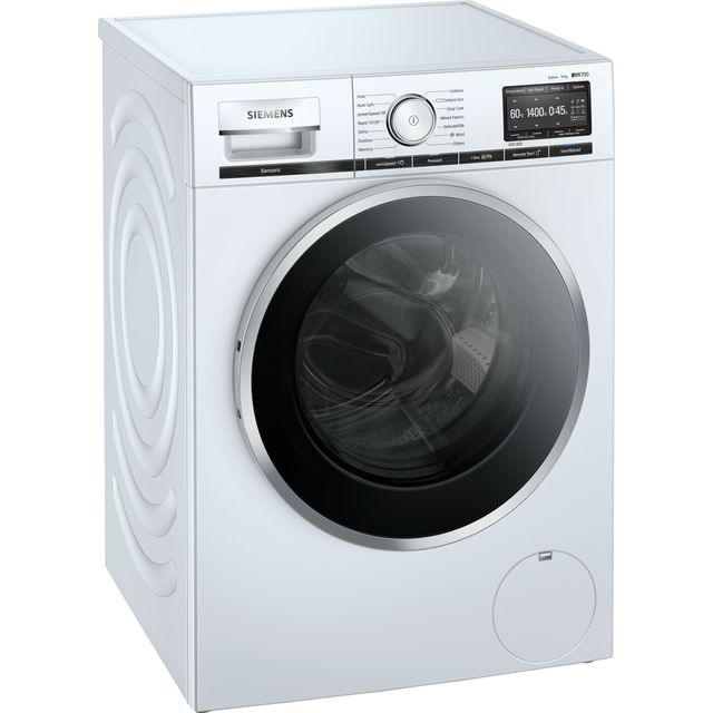 Siemens IQ-700 i-Dos™ WM14XEH4GB 10Kg Washing Machine with 1400 rpm - White - C Rated