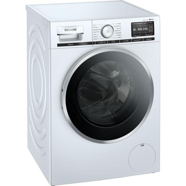 "Siemens IQ-700 i-Dosâ""¢ WM14XEH4GB 10Kg Washing Machine with 1400 rpm - White - A+++ Rated"