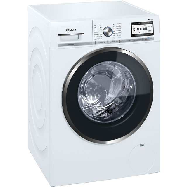 Siemens IQ-700 WM14YH79GB 9Kg Washing Machine with 1400 rpm - White - A+++ Rated - WM14YH79GB_WH - 1