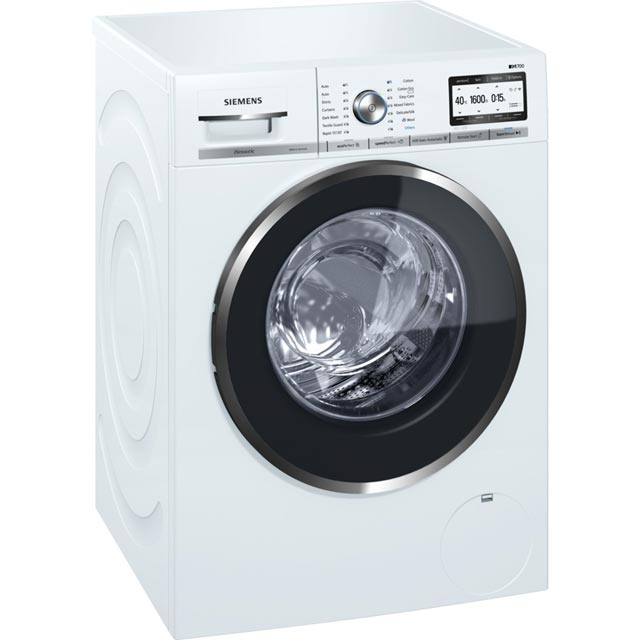 Siemens IQ-700 WM16YH79GB Wifi Connected 9Kg Washing Machine with 1600 rpm - White - A+++ Rated