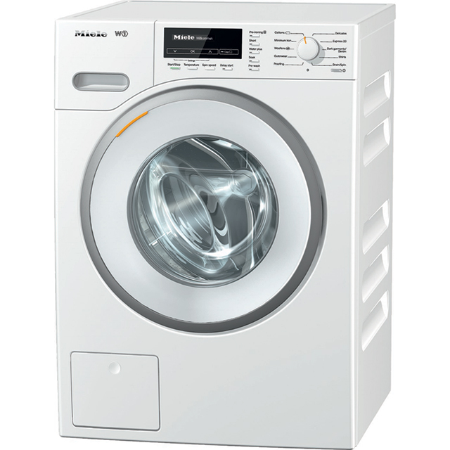 Miele W1 WhiteEdition WMB120 8Kg Washing Machine with 1600 rpm - White - A+++ Rated - WMB120_WH - 1