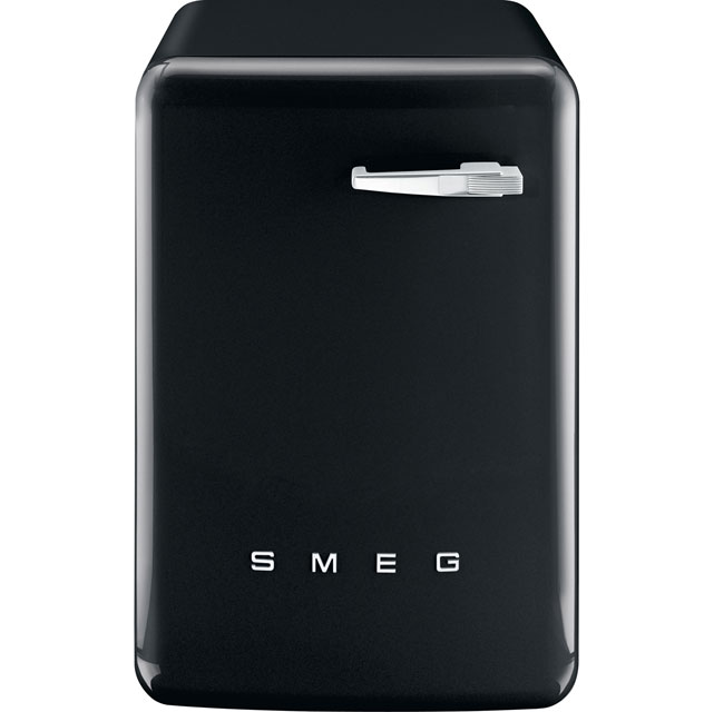 Smeg 50's Retro WMFABBL-2 7Kg Washing Machine with 1400 rpm - Black - A++ Rated