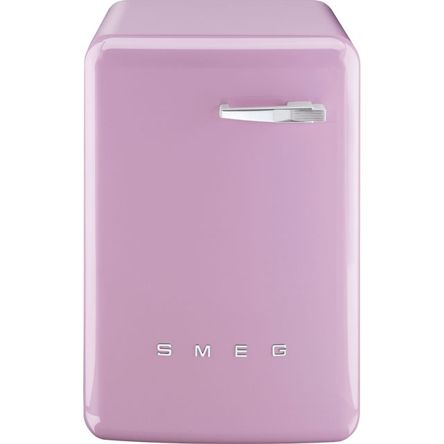 Smeg 50's Retro WMFABPK-2 7Kg Washing Machine with 1400 rpm - Pink - A++ Rated - WMFABPK-2_PK - 1