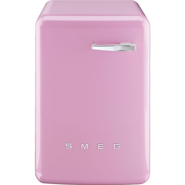 Smeg 50s Retro WMFABPK-2 7Kg Washing Machine with 1400 rpm - Pink - A++ Rated