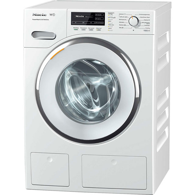 Miele W1 WMH122WPS 9Kg Washing Machine with 1600 rpm - White - A+++ Rated