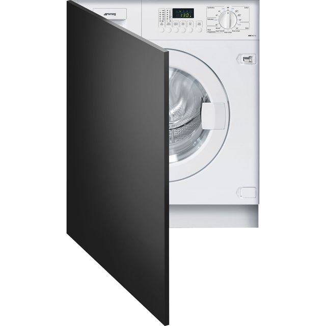Smeg WMI14C7-2 Integrated 7Kg Washing Machine with 1400 rpm - A++ Rated - WMI14C7-2_WH - 1