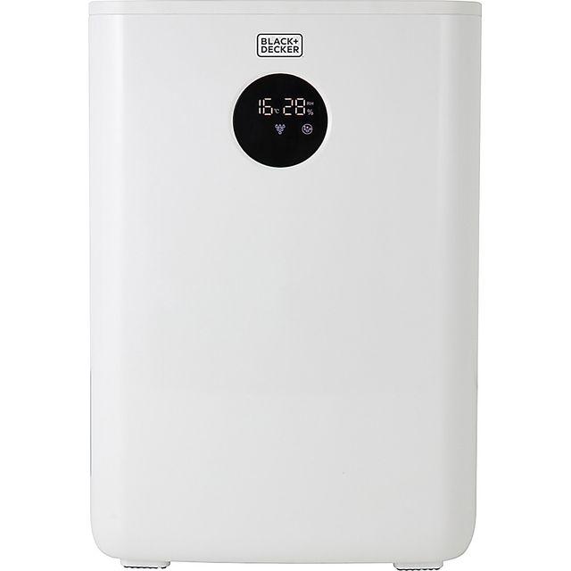 Black & Decker BXEH60002GB Dehumidifier - White