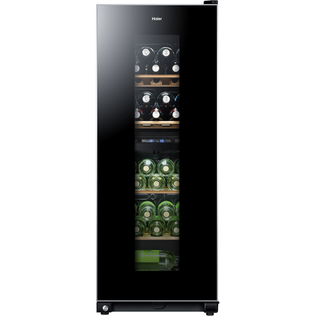 Haier WS46GDBE Wine Cooler - Black - B Rated - WS46GDBE_BK - 1