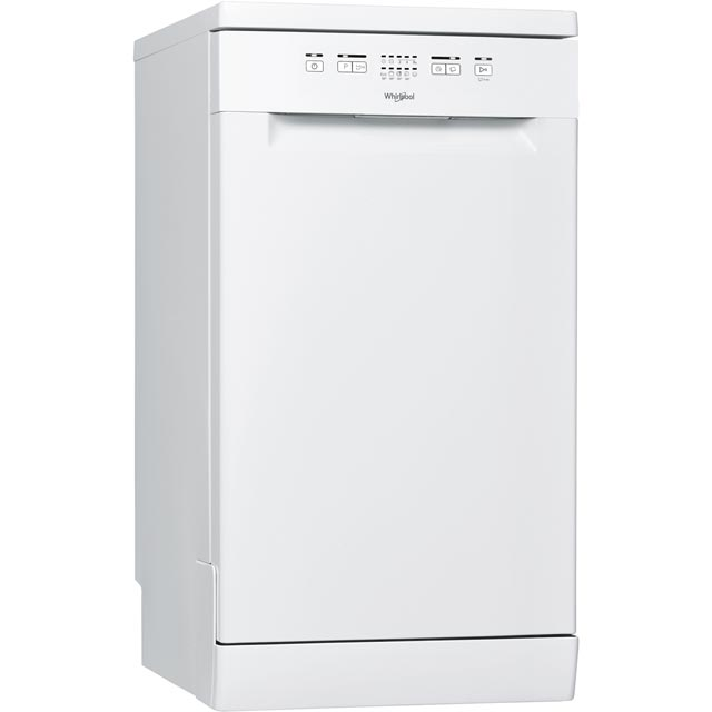 Whirlpool SupremeClean Slimline Dishwasher - White - A+ Rated