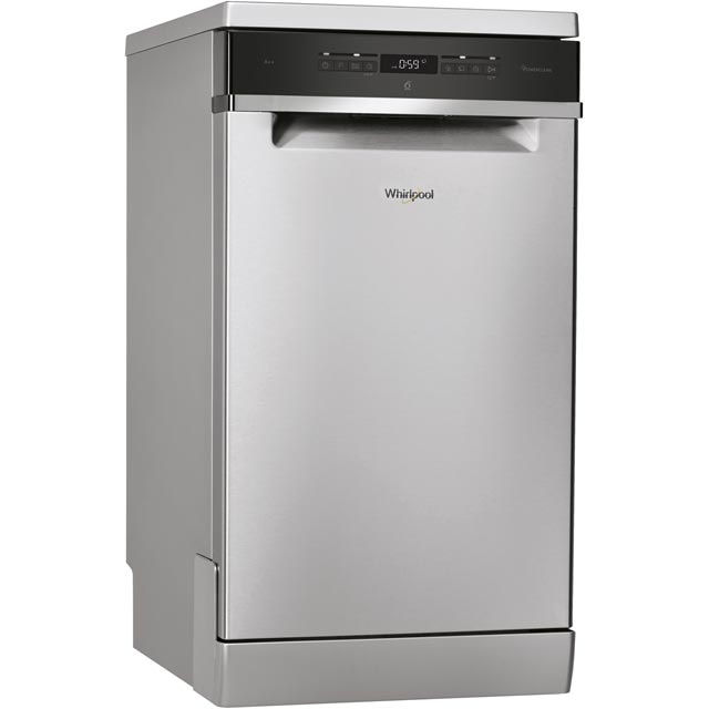 Whirlpool SupremeClean Slimline Dishwasher - Stainless Steel - A++ Rated