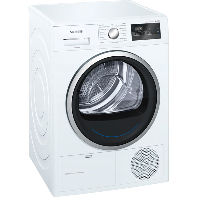 Siemens IQ-300 8Kg Heat Pump Tumble Dryer - White - A++ Rated