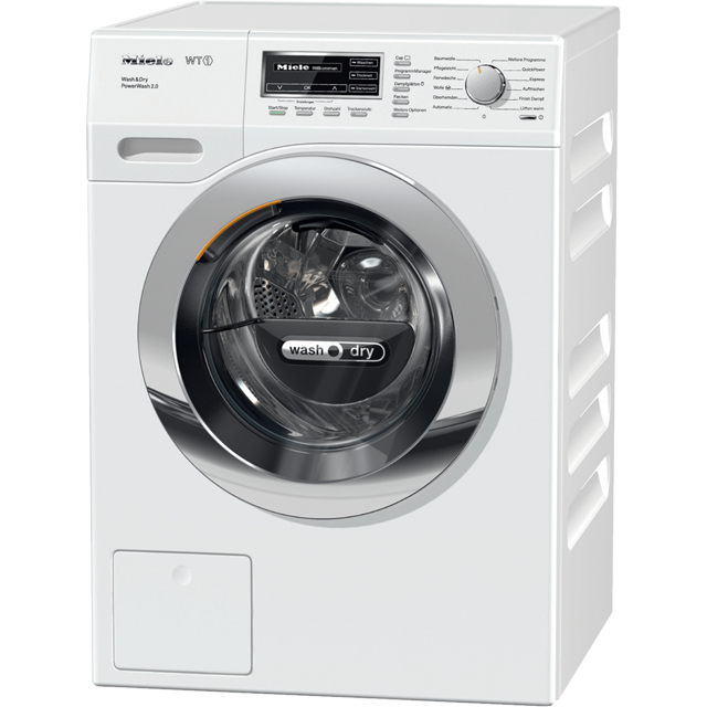 Miele WT1 WTF130WPM 7Kg / 4Kg Washer Dryer with 1600 rpm - White - A Rated - WTF130WPM_WH - 1