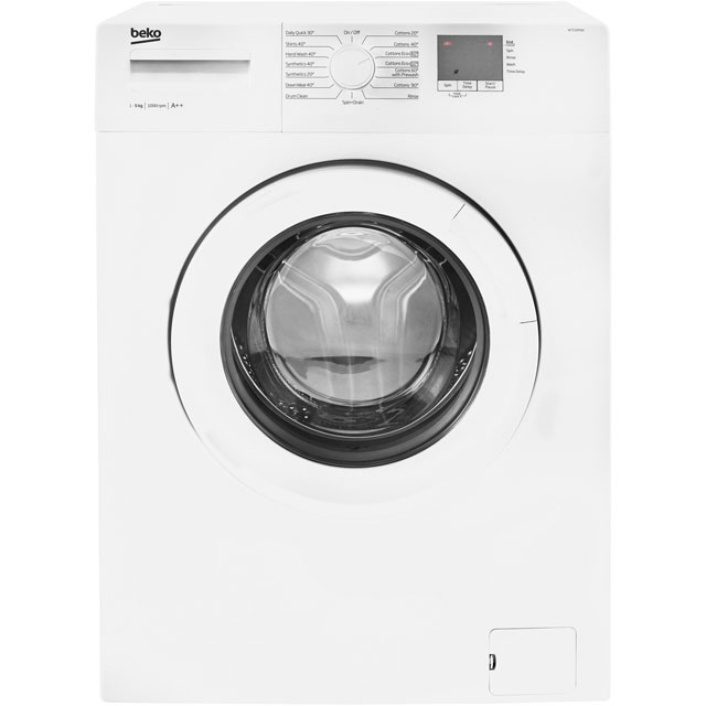Beko WTG50M1W Free Standing Washing Machine in White