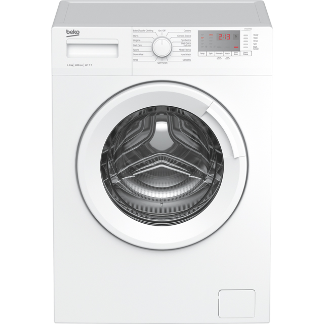 Beko WTG641M1W 6Kg Washing Machine with 1400 rpm - White - A+++ Rated