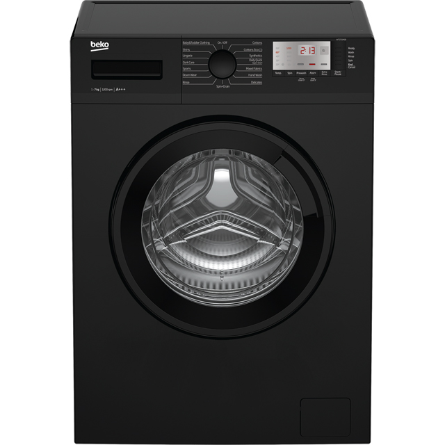 Beko 7Kg Washing Machine - Black - A+++ Rated