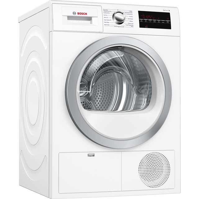 Bosch Serie 6 Free Standing Condenser Tumble Dryer in White